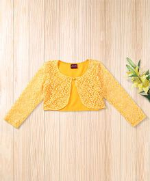 Twisha Lace Shrug To Team With Occasion Wear - Mango