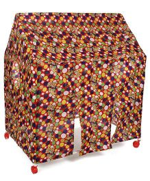 Kids Zone Wonder Play Tent House - Red And Multi Color