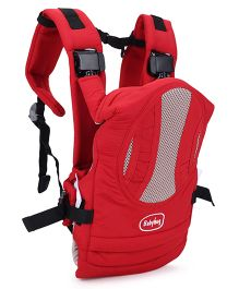 Babyhug Snuggle Me 3 Way Baby Carrier - Red