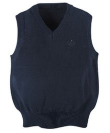 Andy & Evan Sleeveless Sweater Vest - Navy Blue