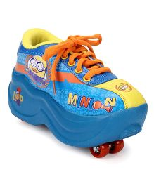 Minions 4 Wheel Roller Skates Shoes - Blue