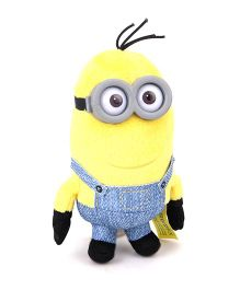 Minions Small Soft Toy Yellow Blue - 16 cm