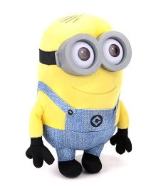 Minions Large Soft Toy Yellow Blue - 16 cm