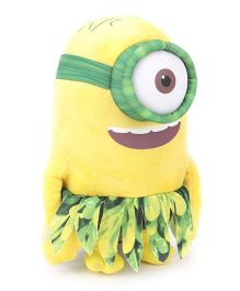 Minions Au Naturale Soft Toy Yellow Green - 22 cm