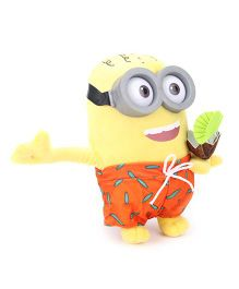 Minions Paradise Phil Soft Toy Yellow Orange - 25 cm