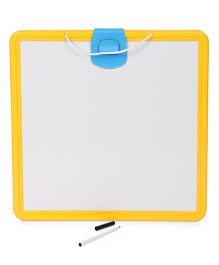 Minions Double Sided Black And White Board - Yellow