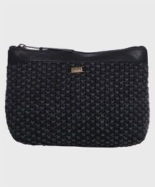 Pluchi Cotton With Leather Pouch - Black
