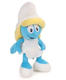 Smurfs Soft Toy Woman Smurf Blue White - 20 cm