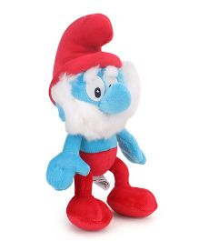 Smurfs Soft Toy Papa Smurf Red Blue - 20 cm