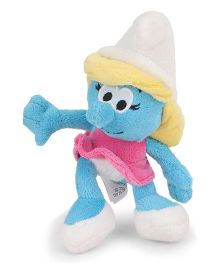 Smurfs Soft Toy Woman Smurf Pink Dress - 20 cm