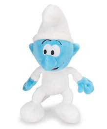 Smurfs Soft Toy Baby Blue White - 20 cm