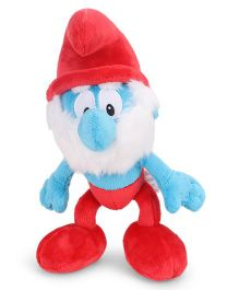 Smurfs Soft Toy Papa Smurf Red Blue - 30 cm