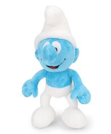 Smurfs Soft Toy White Blue - 30 cm