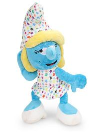 Smurfs Soft Toy Smurfette Multi Color Blue - 45 cm