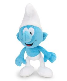 Smurfs Soft Toy White Blue - 40 cm