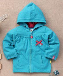 Tiny Bee Infant Hooded Jacket - Blue