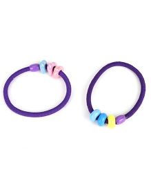 Glixie Hair Rubber Band Pack Of 2