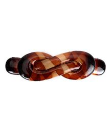 Glixie Hair Clip - Brown