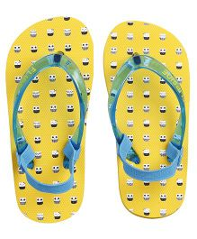 Flipside Kids Smart Owl Flipflops - Yellow