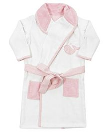 Abracadabra Bathrobe Pink Stripes