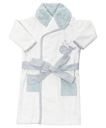 Abracadabra Bathrobe Blue Stripes