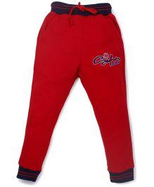 Olio Kids Half Sleeves Night Suit Car Print - White Red