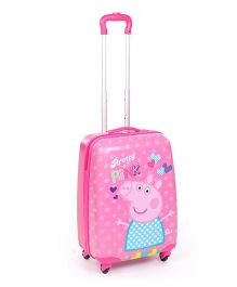 Peppa Pretty In Pink Luggage Bag - 20 Inches
