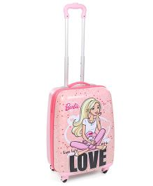 Barbie Live Life With Love Luggage Bag - Pink