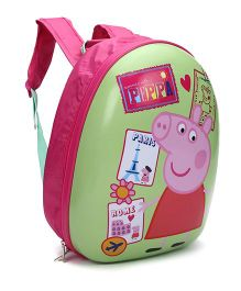 Peppa Pig Backpack - Green & Pink