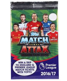 Topps Match Attax Trading Card Game Premier League 2016-17