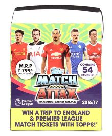 Topps Match Attax Trading Card Game Premier League 2016 - 17 - Multicolor
