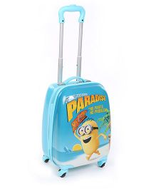 Minions Paradise Luggage Bag - Blue