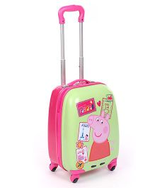 Peppa Luggage Bag Green -  16 Inches