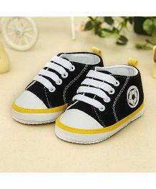 Wow Kiddos Cool Soft Sole Prewalkers Sneaker - Dark Blue
