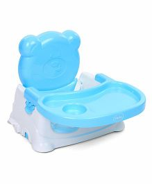 Babyhug Raise Me Up Baby Booster Seat - Blue & White