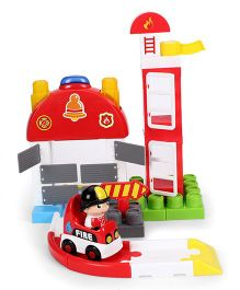 I-Builder Fire Station Blocks Set - 40 Pieces
