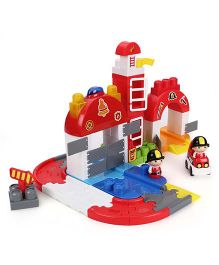 I-Builder Fire Station Blocks Set - 65 Pieces