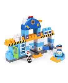 I-Builder Deluxe Police Station - 55 Pieces