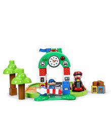 I-Builder Deluxe Train Station - 67 Pieces