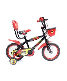 Hero Cycle Spiky 14 T Bicycle - Black Red