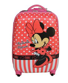 Disney Gamme Minnie Mouse Luggage Bag Pink - 18 Inches