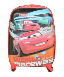 Disney Gamme Car Raceway World Luggage Bag Red - 16 Inches