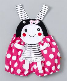Wow Clothes Doll Design Dungarees - Pink