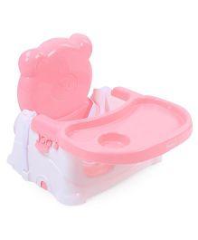 Babyhug Raise Me Up Baby Booster Seat - Pink & White
