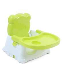 Babyhug Raise Me Up Baby Booster Seat - Green & White