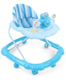 Musical Baby Walker Froggy Design - Blue