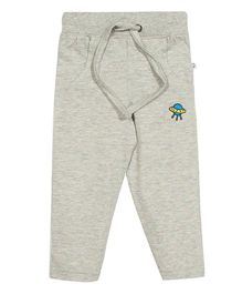 Solittle Full Length Lounge Pants Satellite Embroidery - Grey
