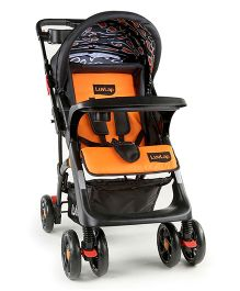 Luv Lap Sports Stroller 18251 - Black & Orange
