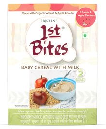 Pristine 1st Bites Wheat And Apple - 300 Grams