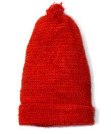 Soft Tots Sunflower Cap - Red